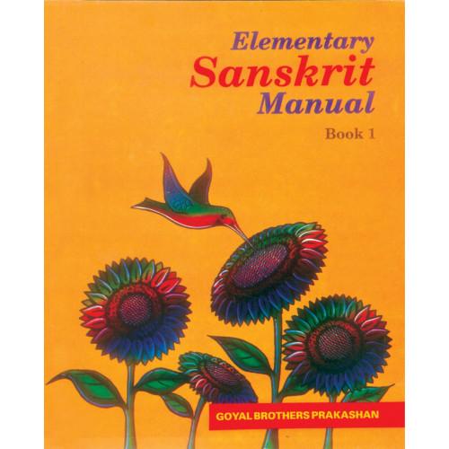 Elementary Sanskrit Manual Book 1