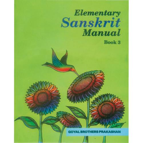 Elementary Sanskrit Manual Book 3