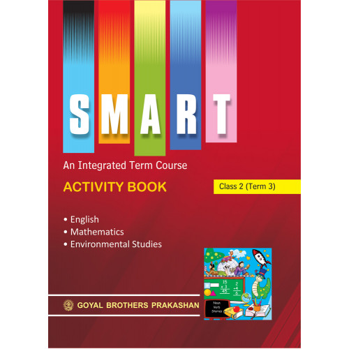 Smart An Integrated Term Course Book Activity Book For Class 1 (Term 2)