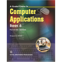 A Graded Course In Computer Applications Book 6