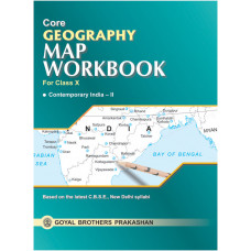 Core Geography Map Workbook For Class X