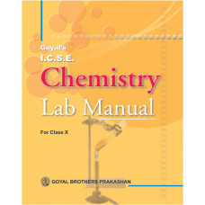 ICSE Chemistry Lab Manual Part 2 For Class X