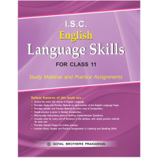 ISC English Language Skills For Class XI