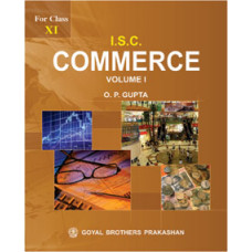 ISC Commerce Part 1 For Class XI