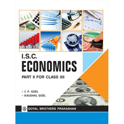 ISC Economics Part 2 For Class XII