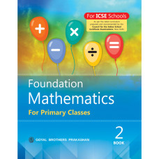 Foundation Mathematics For Primary Classes Book 2