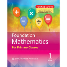 Foundation Mathematics For Primary Classes Book 1