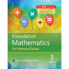 Foundation Mathematics For Primary Classes Book 3