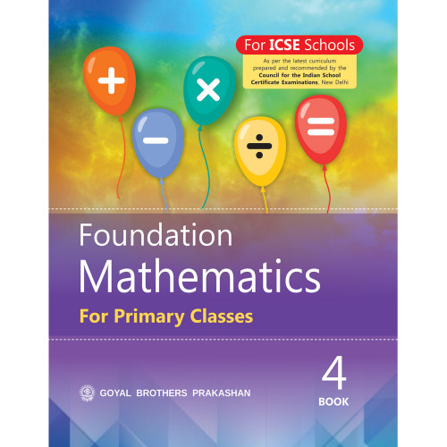 Foundation Mathematics For Primary Classes Book 4