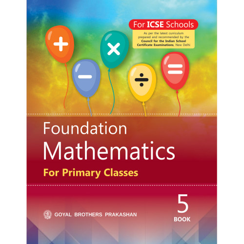 Foundation Mathematics For Primary Classes Book 5