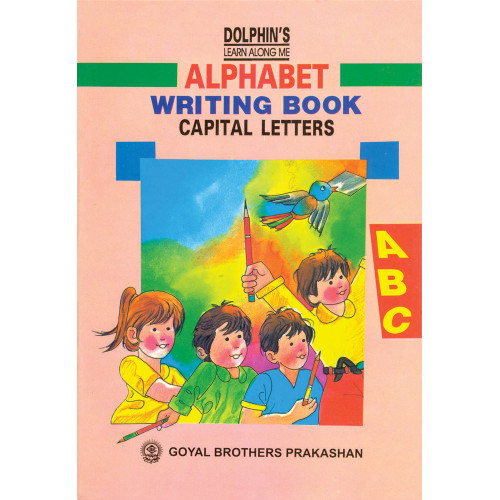 Dolphins Alphabet Writing Book Capital Letters (LKG)
