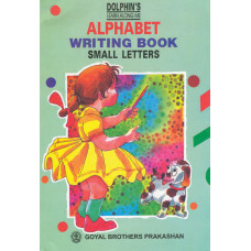 Dolphins Alphabet Writing Book Small Letters (LKG)