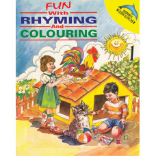 Fun With Rhyming And Colouring Book 1