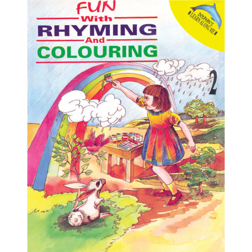 Fun With Rhyming And Colouring Book 2
