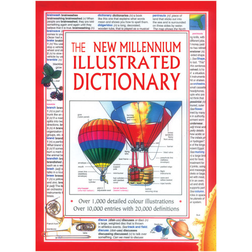 The New Millennium Illustrated Dictionary