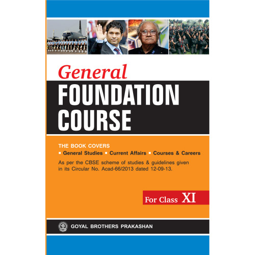 General Foundation Course For Class XI