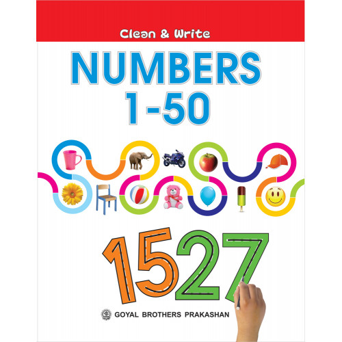 Clean And Write Numbers 1 To 50