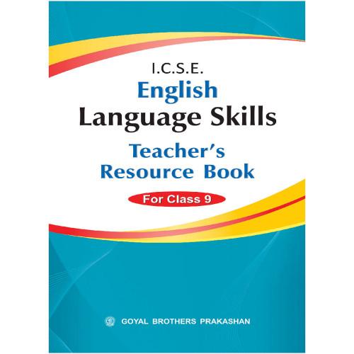 ICSE English Language Skills Teachers Resource Book Of For Class IX