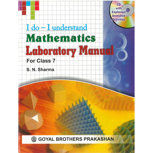 I Do I Understand Mathematics Laboratory Manual For Class 7 (With Online Support)