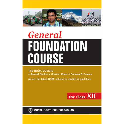 General Foundation Course For Class XII