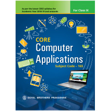 Core Computer Applications For Class IX