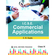 ICSE Commercial Applications For Class IX