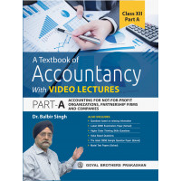 A Textbook Of Accountancy With Video Lectures Part A For Class XII