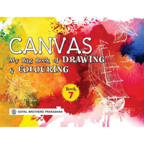 Canvas My Big Book Of Drawing & Colouring Book 7