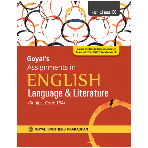 Goyals Assignments In English Language & Literature For Class IX
