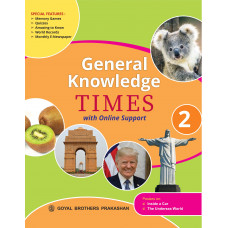 General Knowledge Times Book 2 with Online Support (2019 Edition)