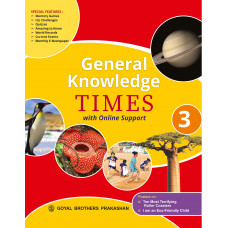 General Knowledge Times Book 3 with Online Support (2019 Edition)