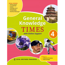 General Knowledge Times Book 4 with Online Support (2019 Edition)