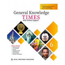 General Knowledge Times Book 6 with Online Support (2019 Edition)