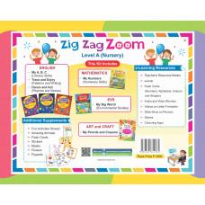 Zig Zag Zoom Level A Nursery (With Hindi)