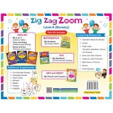 Zig Zag Zoom Level A Nursery (Without Hindi)