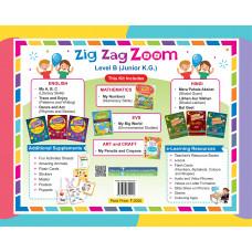 Zig Zag Zoom Level B Junior KG (With Hindi)