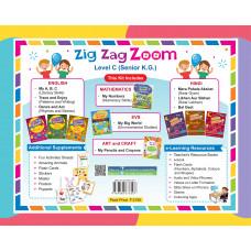 Zig Zag Zoom Level C Senior KG (With Hindi)