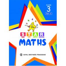 Star Maths For Class 3 (Part A B C & D)