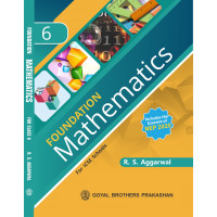 Foundation Mathematics For ICSE School Book 6