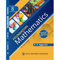 Foundation Mathematics For ICSE School Book 8