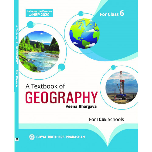 A Textbook Of Geography ICSE For Class 6