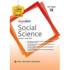 ScoreWell Social Science for Class IX