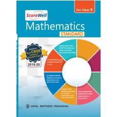 ScoreWell Mathematics STANDARD for Class X