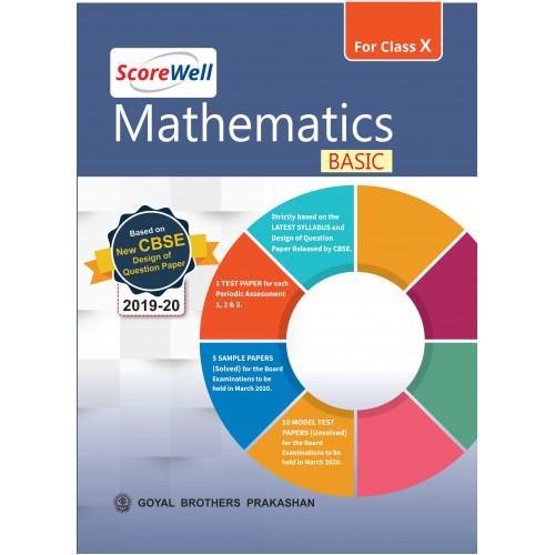ScoreWell Mathematics BASIC for Class X