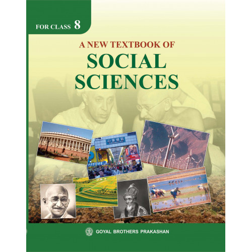 A New Textbook Of Social Sciences For Class 8