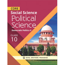 Core Social Sciences Political Sciences For Class X