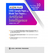 Score Plus CBSE Sample Paper and Model Test Paper In Artificial Intelligence For Class 10 Term I Exam 2021-22
